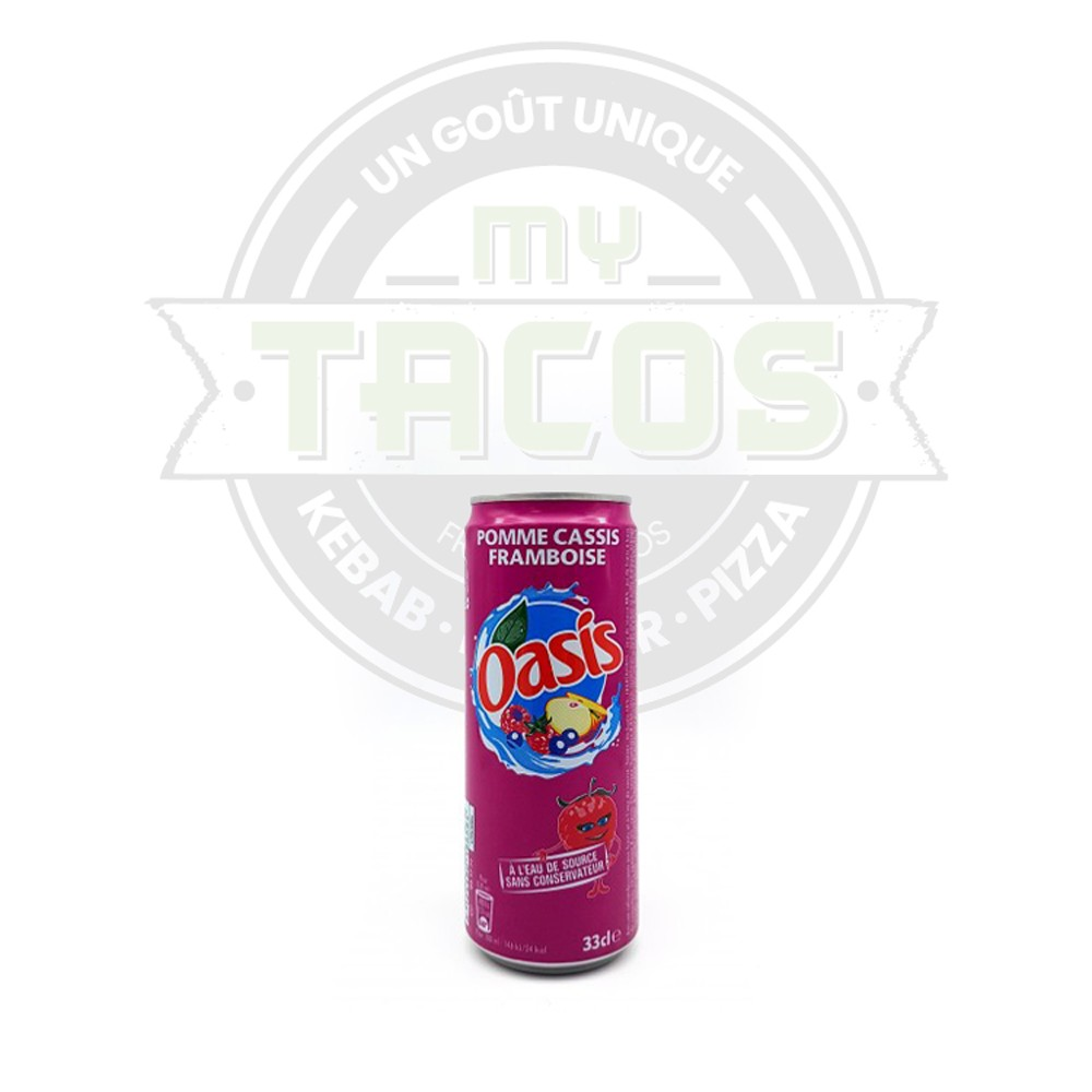 Oasis pomme cassis